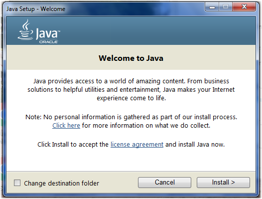 Install or revert to a prior version of Java - Windows